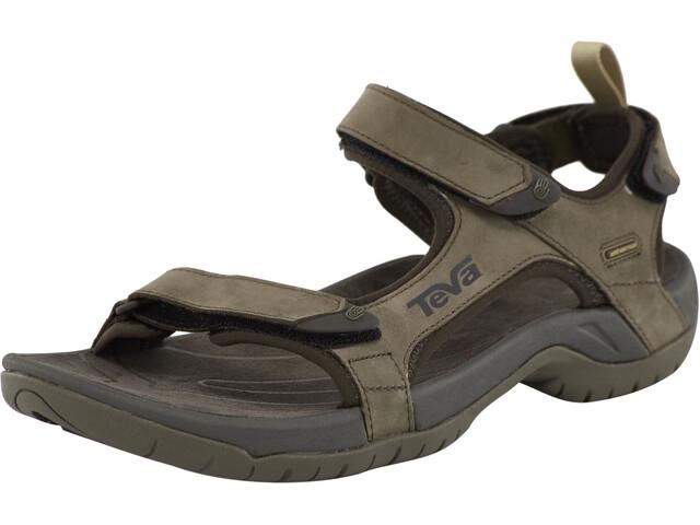 online store 50822 0f891 Teva Tanza Leather Sandali Uomo, brown
